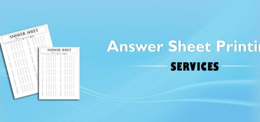 Answer Sheet Printing Services